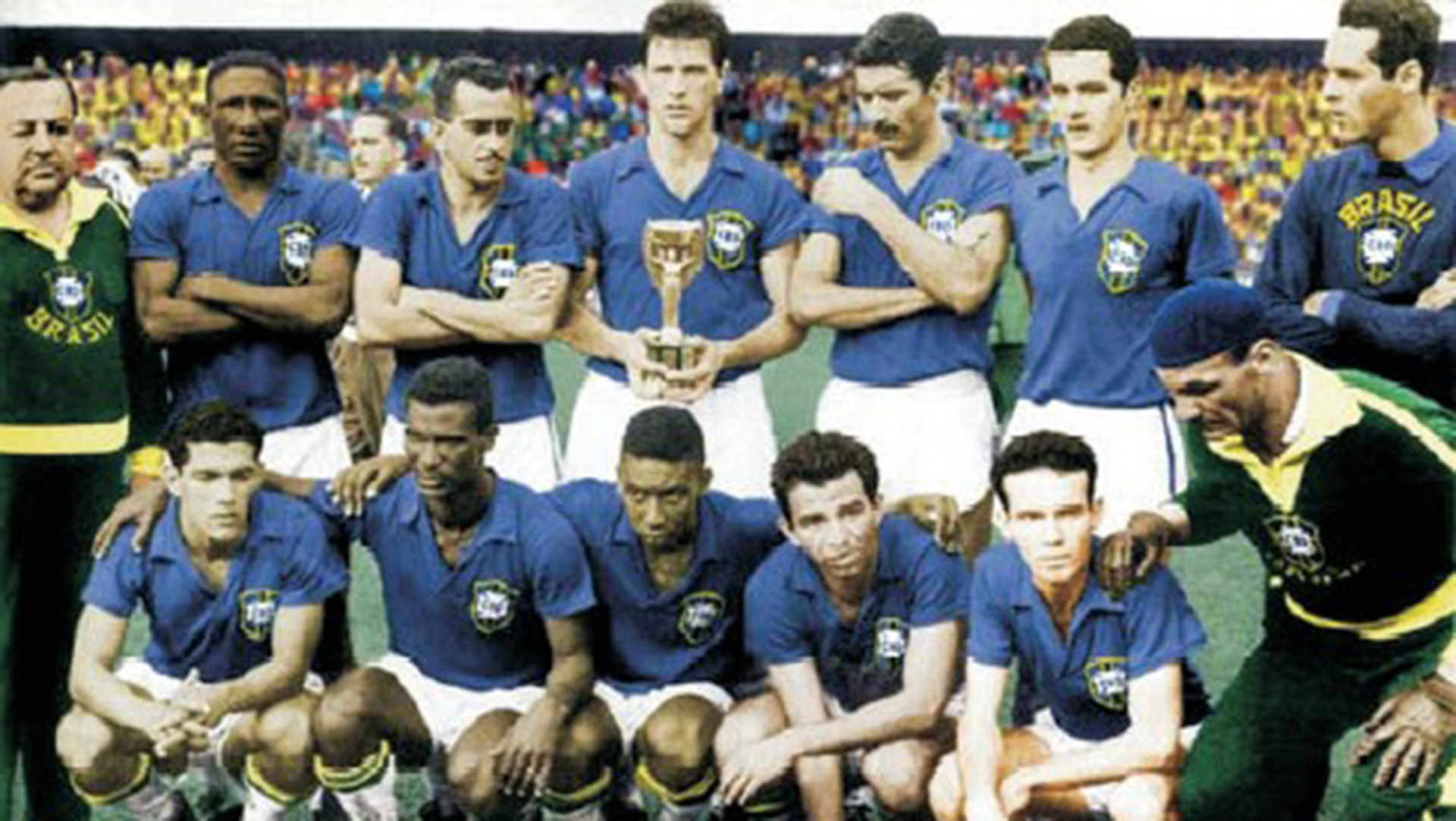 Brazil 1958 World Cup Champion 29061958