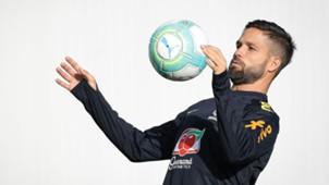 Diego Ribas Brasil treino SP 20032017