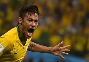 Neymar Brazil Croatia 2014 World Cup Group A 06122014