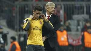 Gabriel Paulista Arsene Wenger Bayern Munich Arsenal Champions League R16 15022017