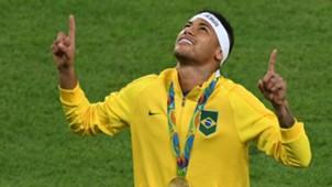 Neymar Brazil Gold Medal Rio 2016 Olympics