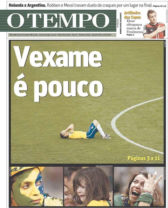 Capas 7 a 1 O Tempo Belo Horizonte MG