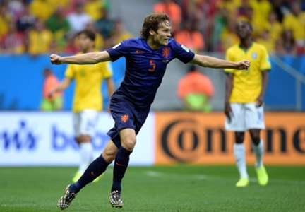Daley Blind Brazil Netherlands 2014 World Cup third-place playoff