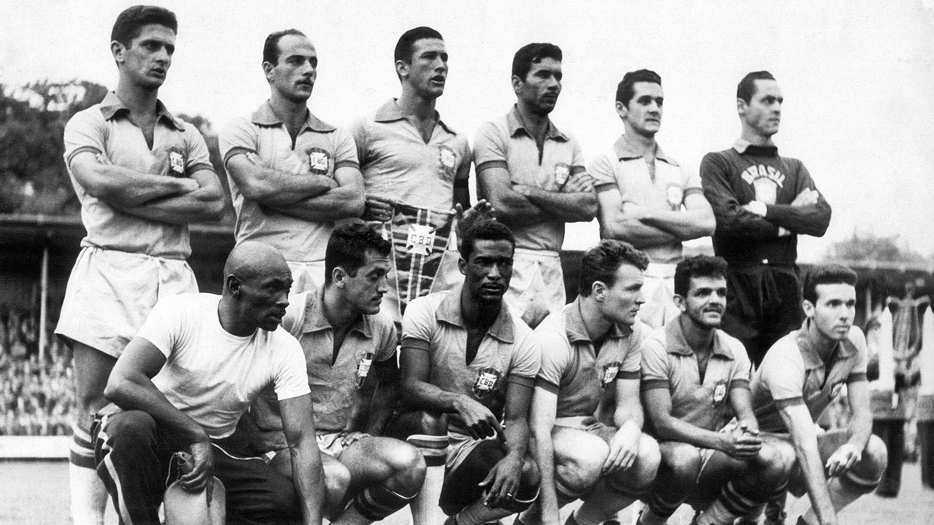 Brazil Austria 1958 World Cup 08061958
