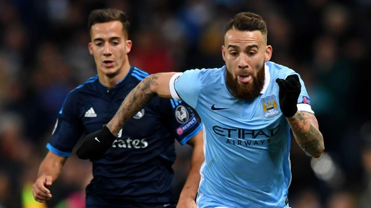 Otamendi e Lucas Vazquez - Manchester City vs Real Madrid UEFA Champions League 26042016