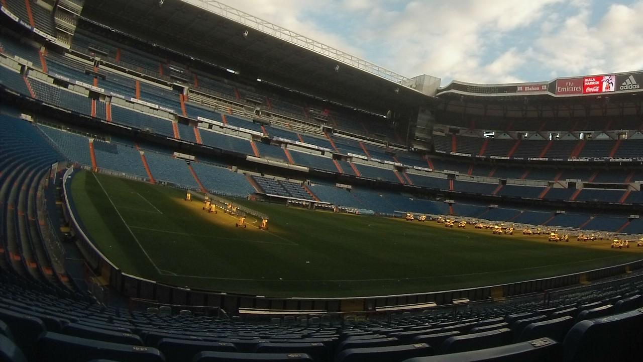 Real Madrid Santiago Bernabeu museu museum 19052016