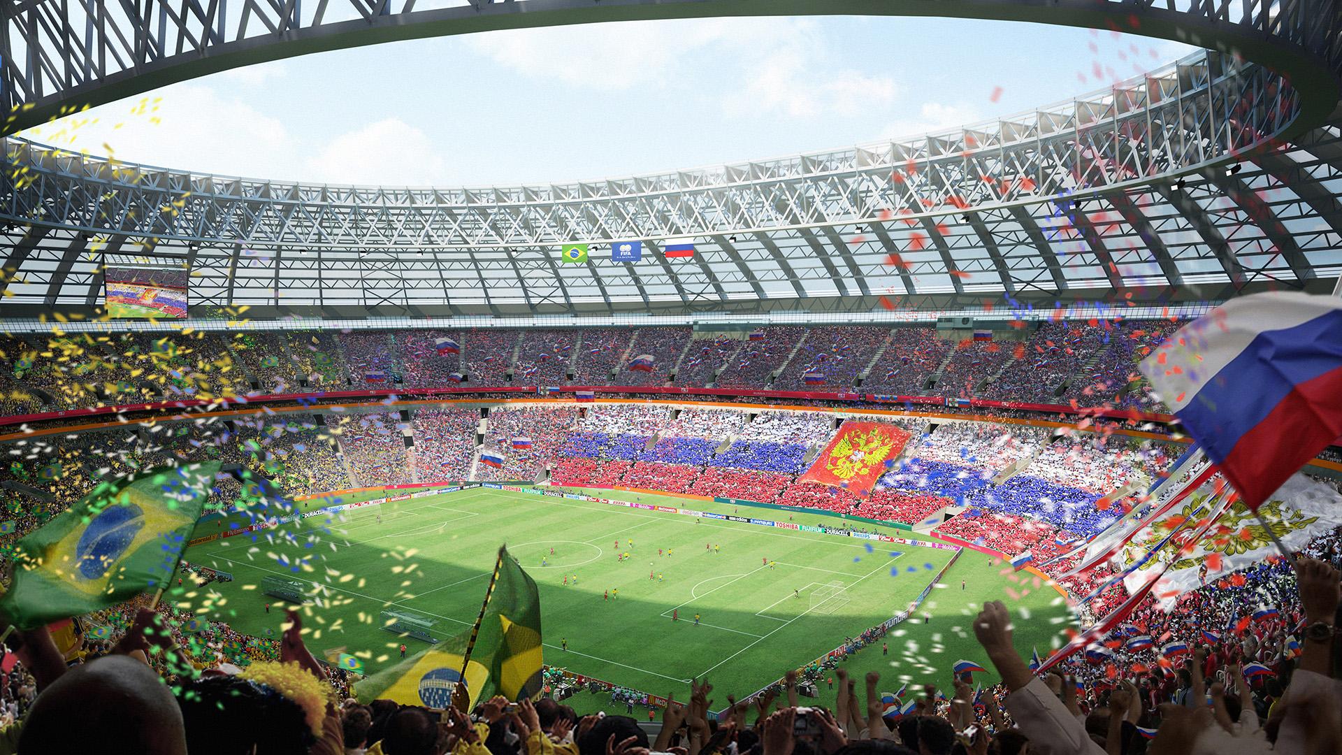 Ceremonia De Inauguracion Del Mundial Rusia  A Que Hora Es Como Sera Y Quienes Estaran Goal Com
