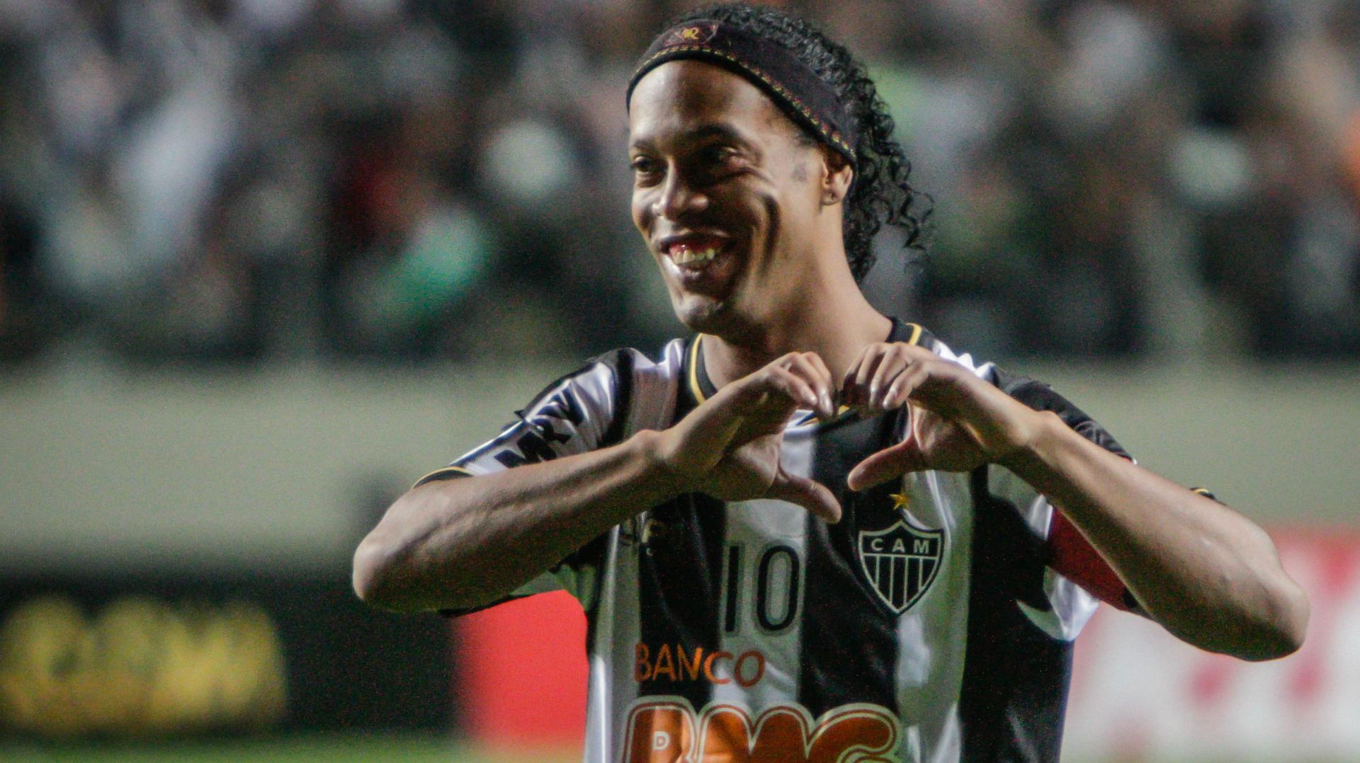 Ronaldinho Atlético-MG Newell's Old Boys Copa Libertadores 10072013