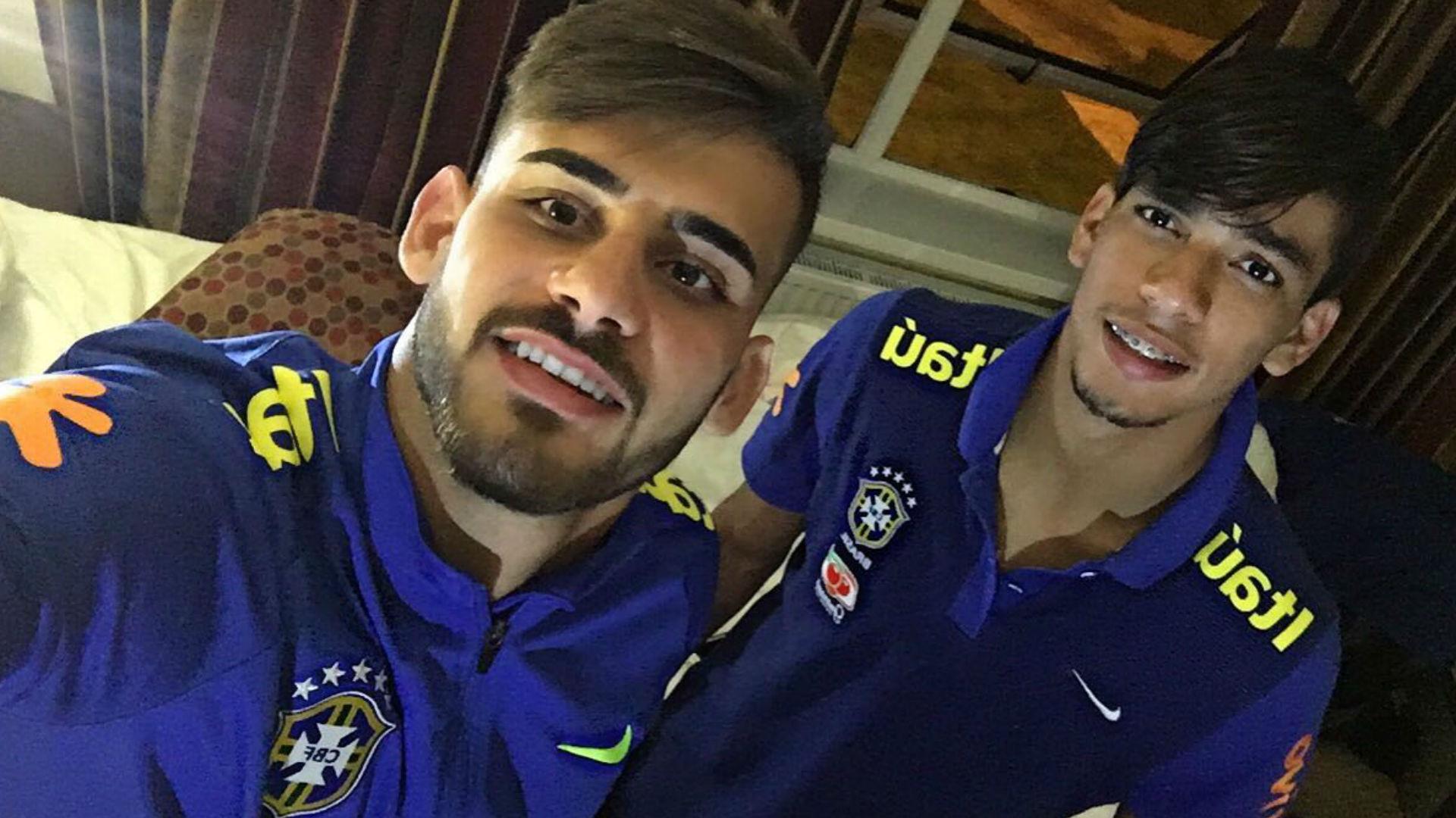Felipe Vizeu e Lucas Paquetá 24 09 16