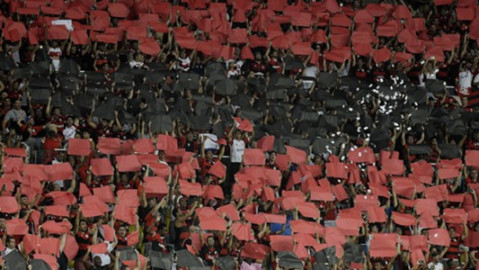 Torcida Flamengo San Lorenzo Libertadores 08032017