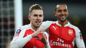 Aaron Ramsey Theo Walcott Arsenal Sunderland FA Cup 3rd round 09012016