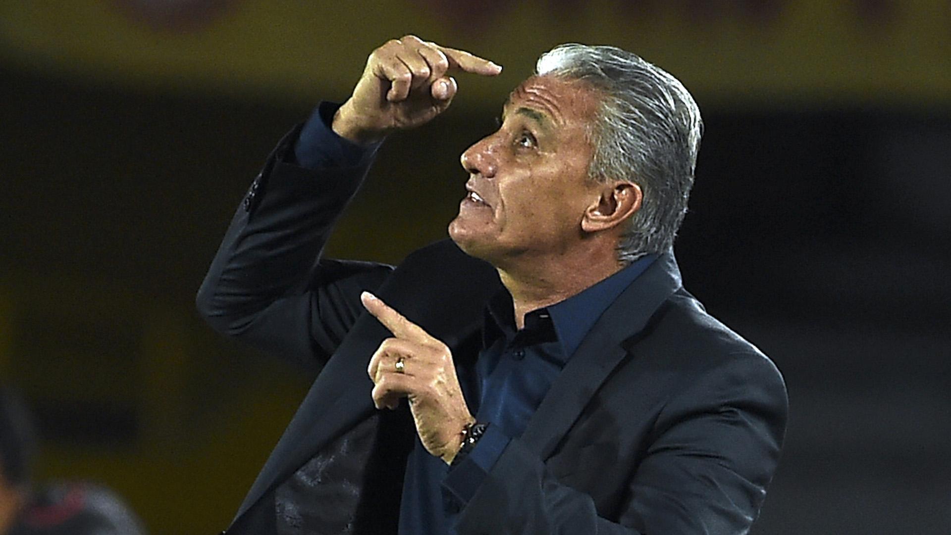 Tite Santa Fe Corinthians Libertadores 04062016