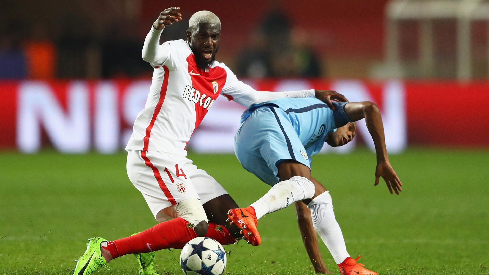 Tiemoue Bakayoko Fernandinho Monaco Manchester City Champions League R16 15032017