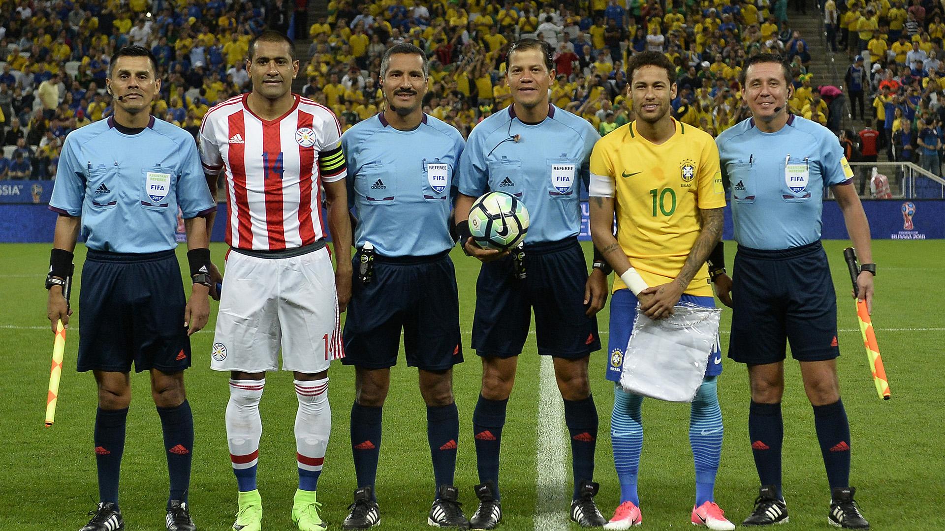 Neymar Paulo da Silva Brasil Paraguai Eliminatorias 2018 28032017