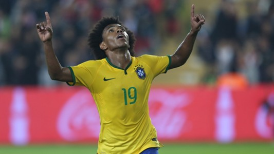 Willian Turkey Brazil Friendly 12112014