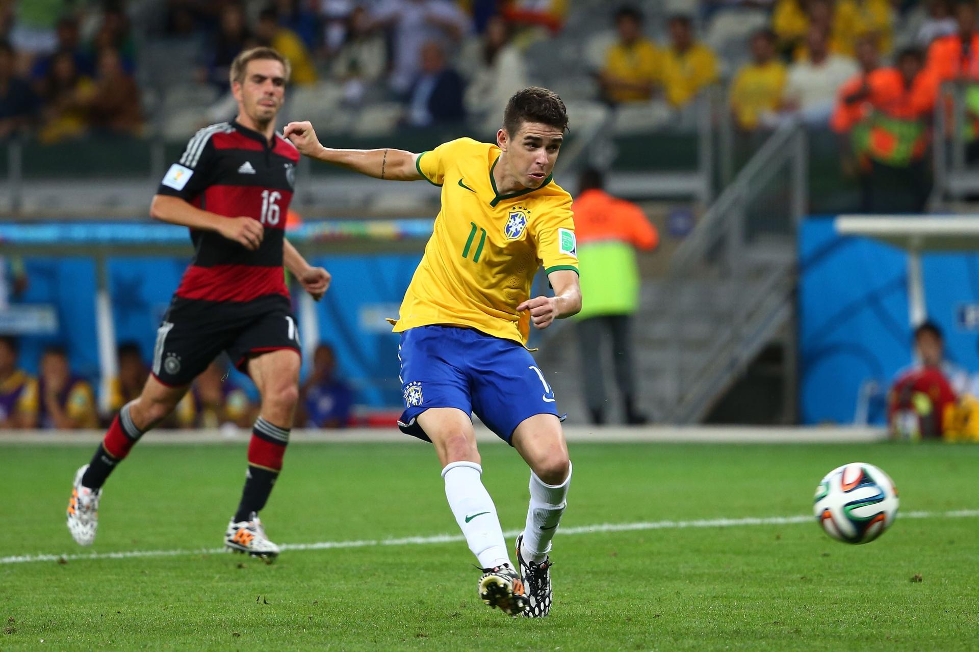 GALLERY ONLY Brazil x Germany World Cup 2014 Oscar
