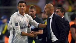 Zidane Cristiano Ronaldo 27092016