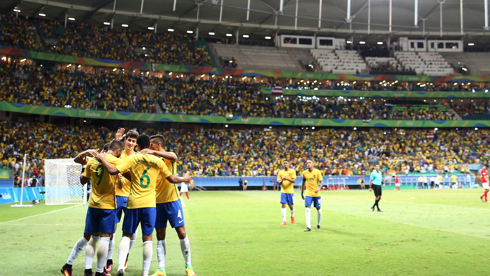 Fonte Nova Denmark Brazil Rio 2016 Olympics 10082016