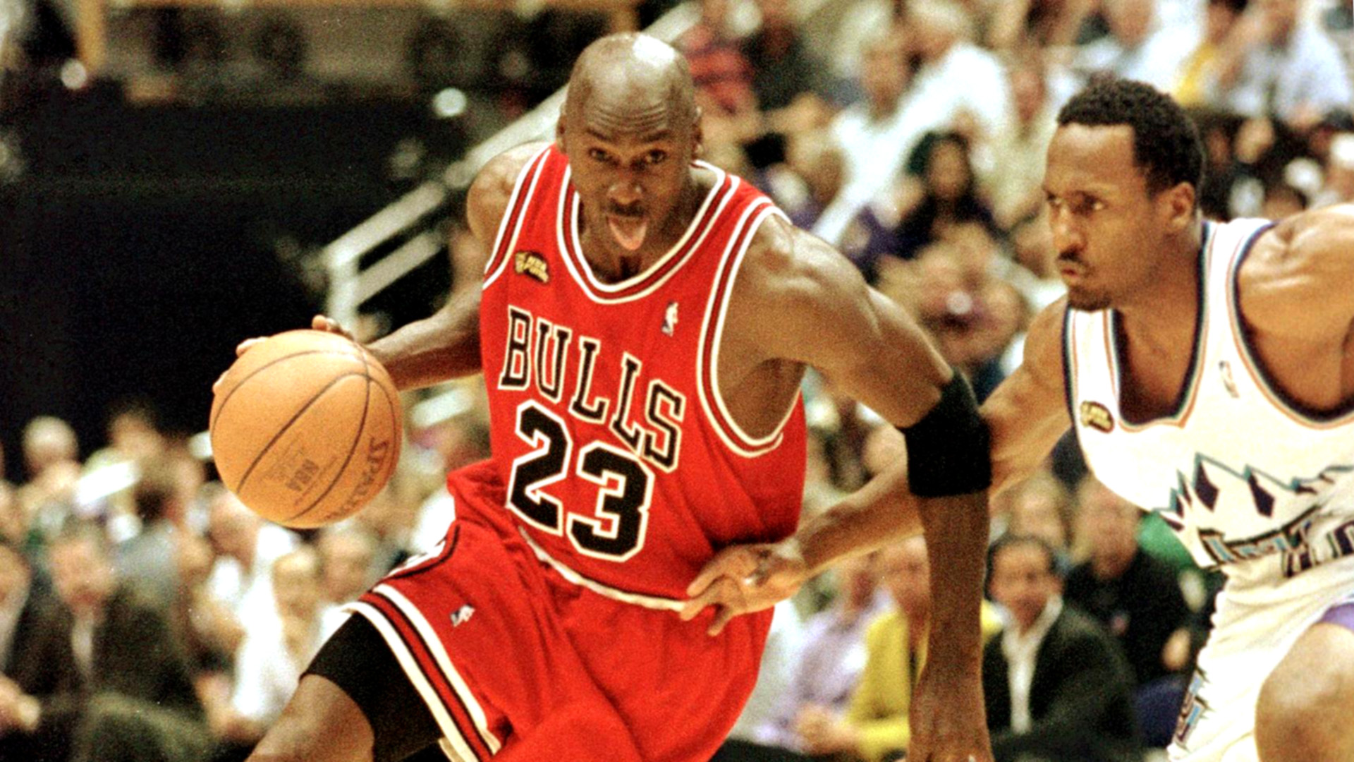 La légende Michael Jordan au Parc des Princes — PSG-Reims