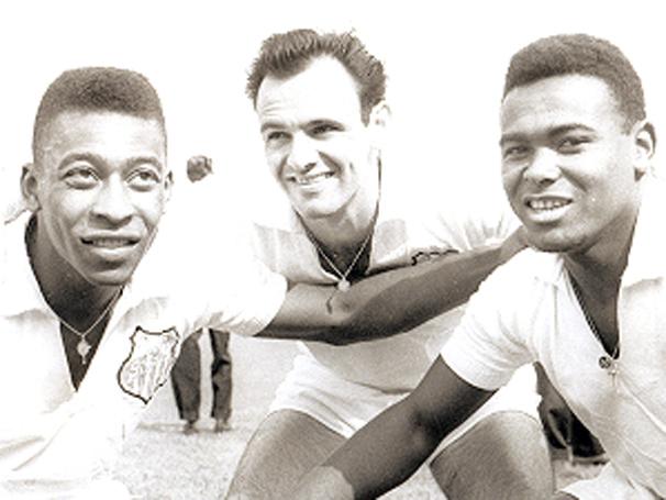 Santos 1960 Pele Pepe Coutinho