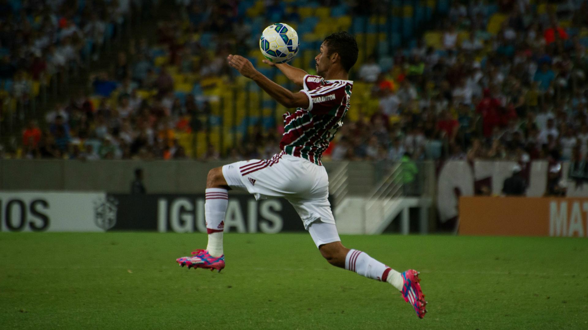 Gustavo Scarpa | Fluminense x Goiás | Campeonato Brasileiro 2015 | 28/09/2015