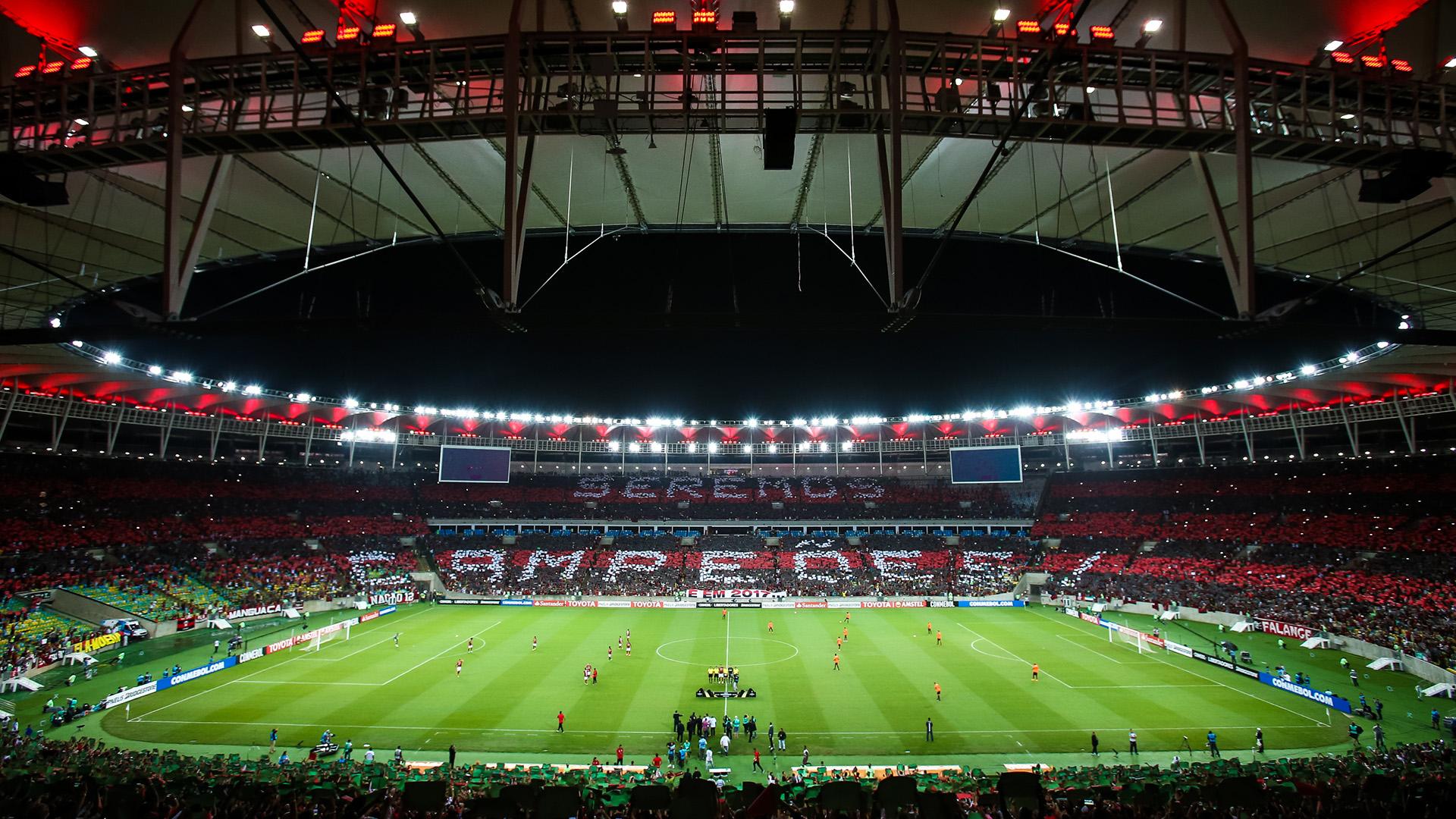 Maracana mosaico Flamengo Atletico-PR Copa Libertadores 12042017