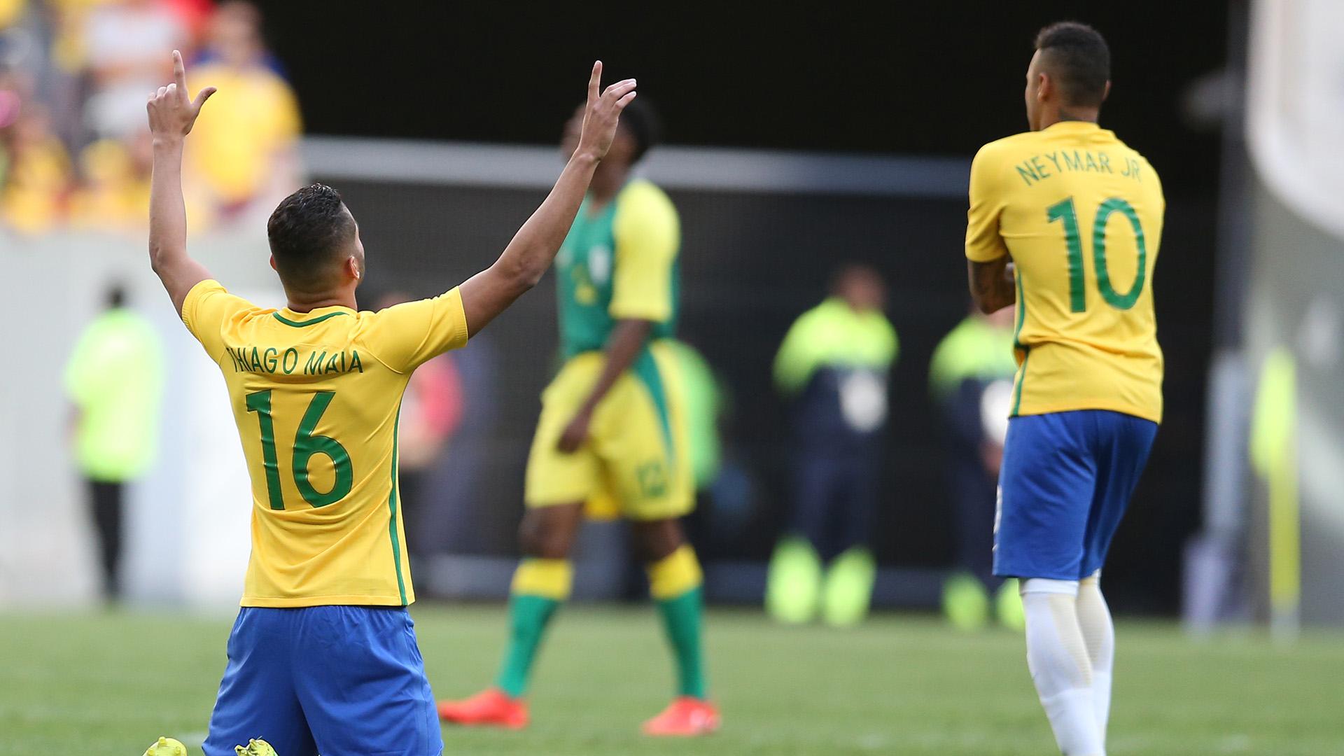 Thiago Maia Brazil South Africa Rio 2016 Olympics 04082016
