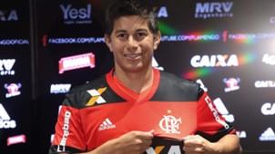 Dario Conca Flamengo apresentação 13012017