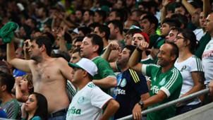 Torcida Palmeiras Jorge Wilstermann Copa Libertadores 15032017