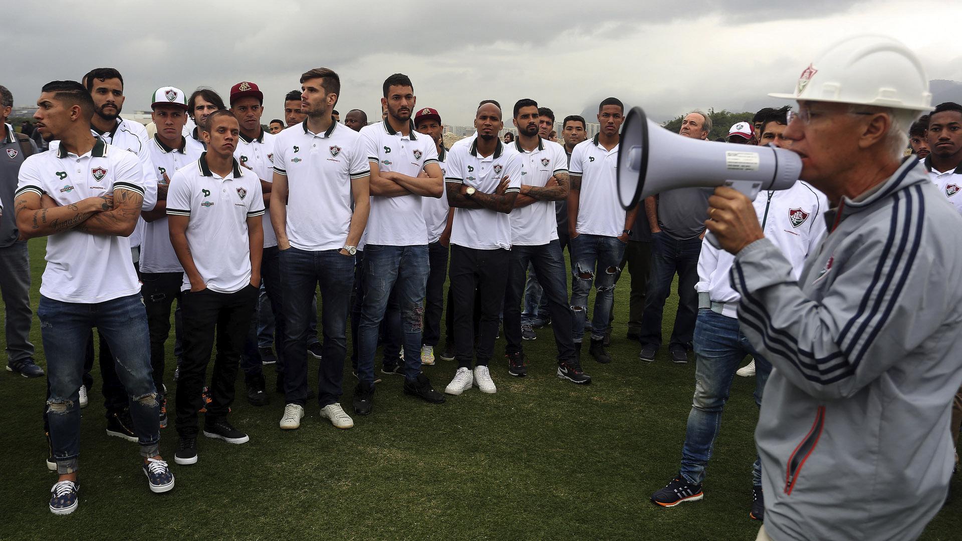 Pedro Antônio VP projetos especiais Fluminense e jogadores CT 21 07 16
