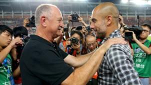 Scolari, Guardiola - Guangzhou x Bayern