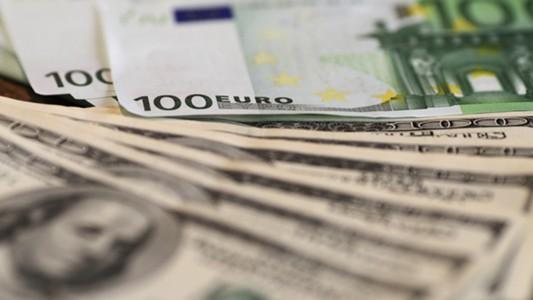 Money Euros Dollars Currency