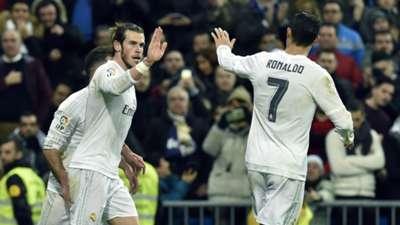 Gareth Bale Cristiano Ronaldo Real Madrid Deportivo La Coruna La Liga 09012016
