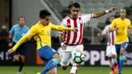 Fagner Brasil Paraguai Eliminatorias 2018 28032017