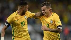 Neymar Coutinho Brasil Argentina Eliminatorias 2018 10112016