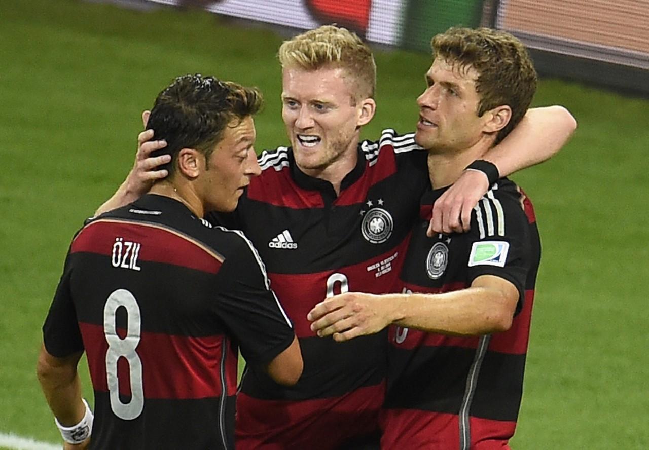 Andre Schurrle Brazil Germany 2014 World Cup quarter-final 07082014
