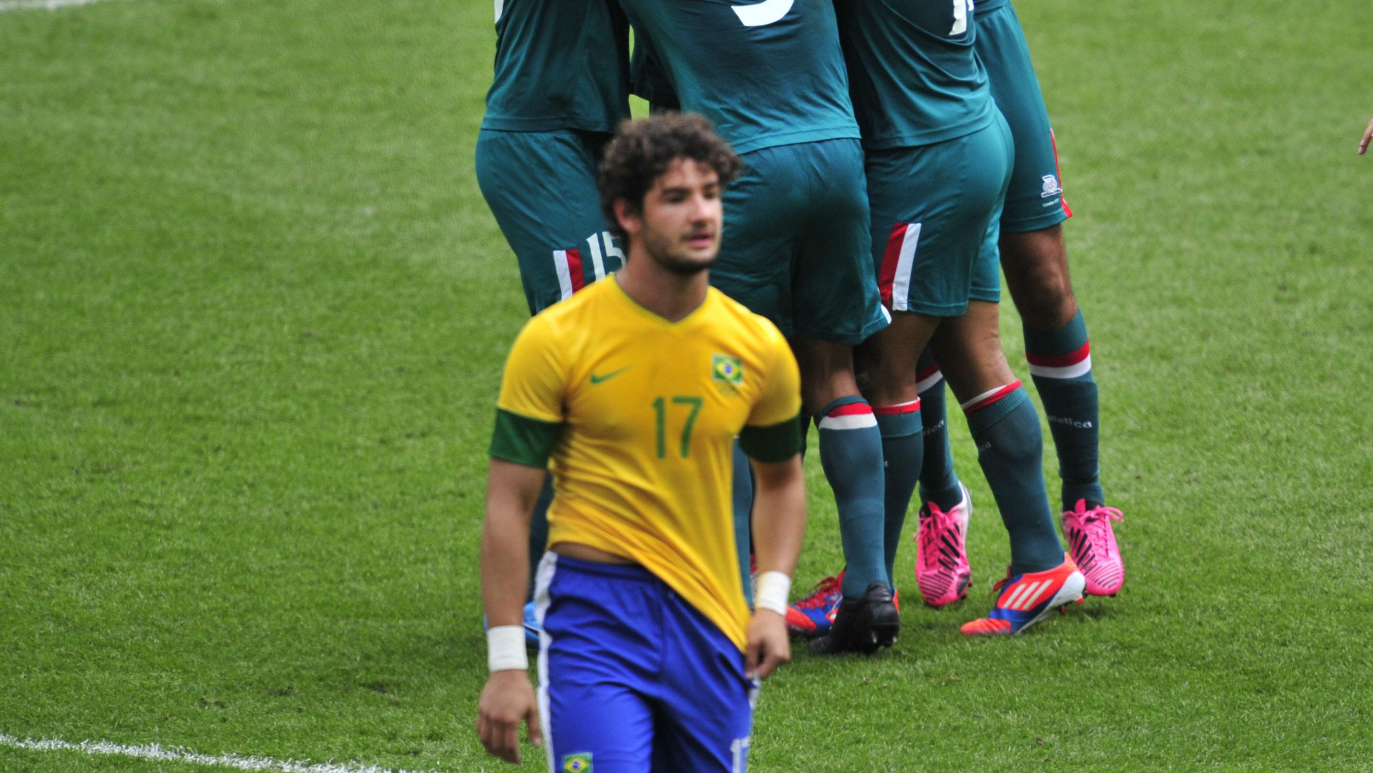 Alexandre Pato Seleção Olimpíada Londres 2012 29062016