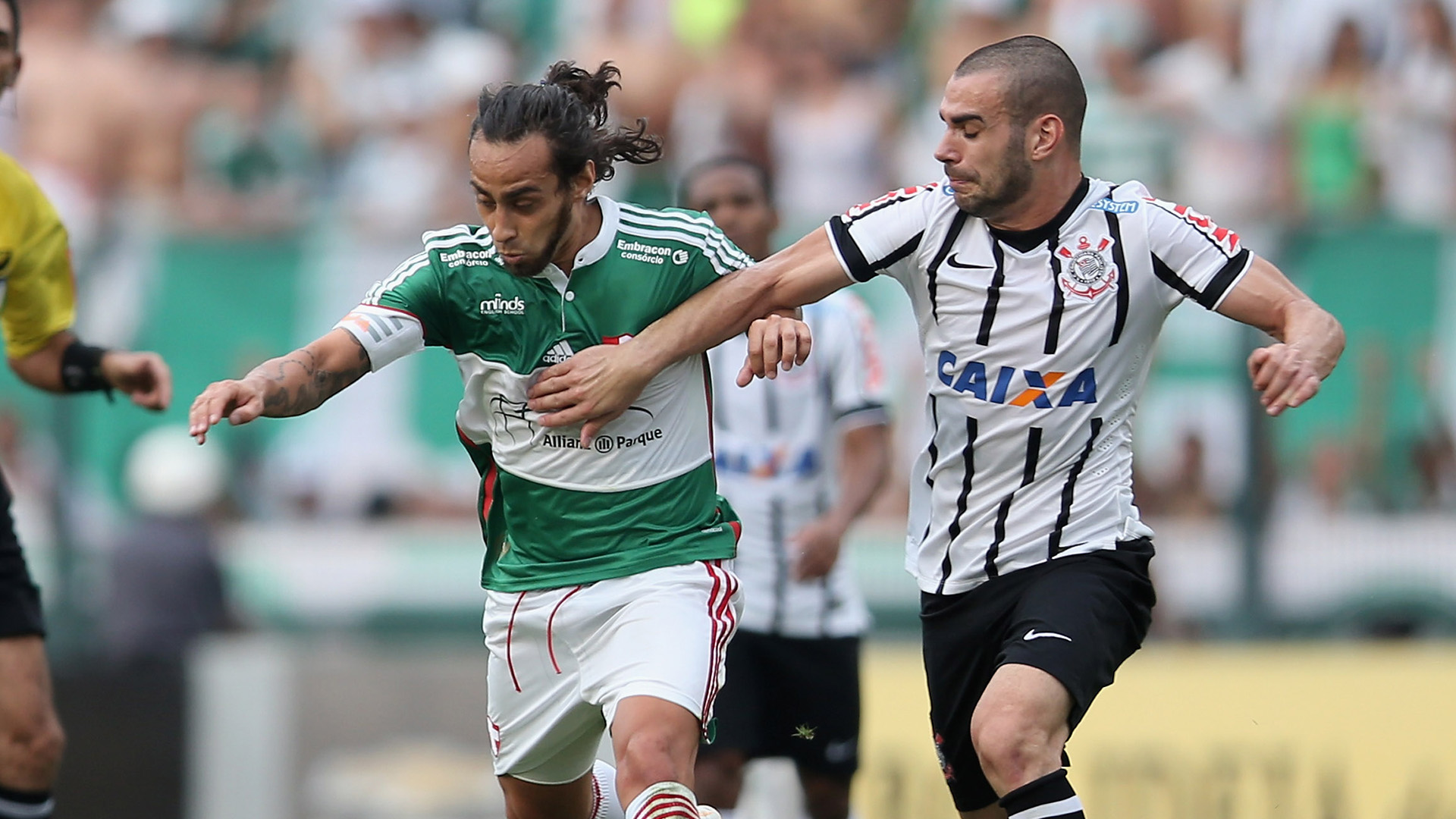 Jorge Valdivia, Bruno Henrique | Palmeiras 1-1 Corinthians | Brasileirão | Pacaembu | 25 10 2014