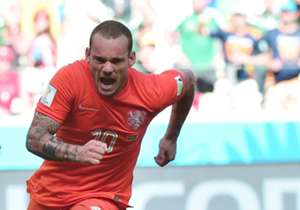 Sneijder Netherlands Mexico 2014 World Cup