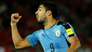 Luis Suárez Uruguai 16 11 2016