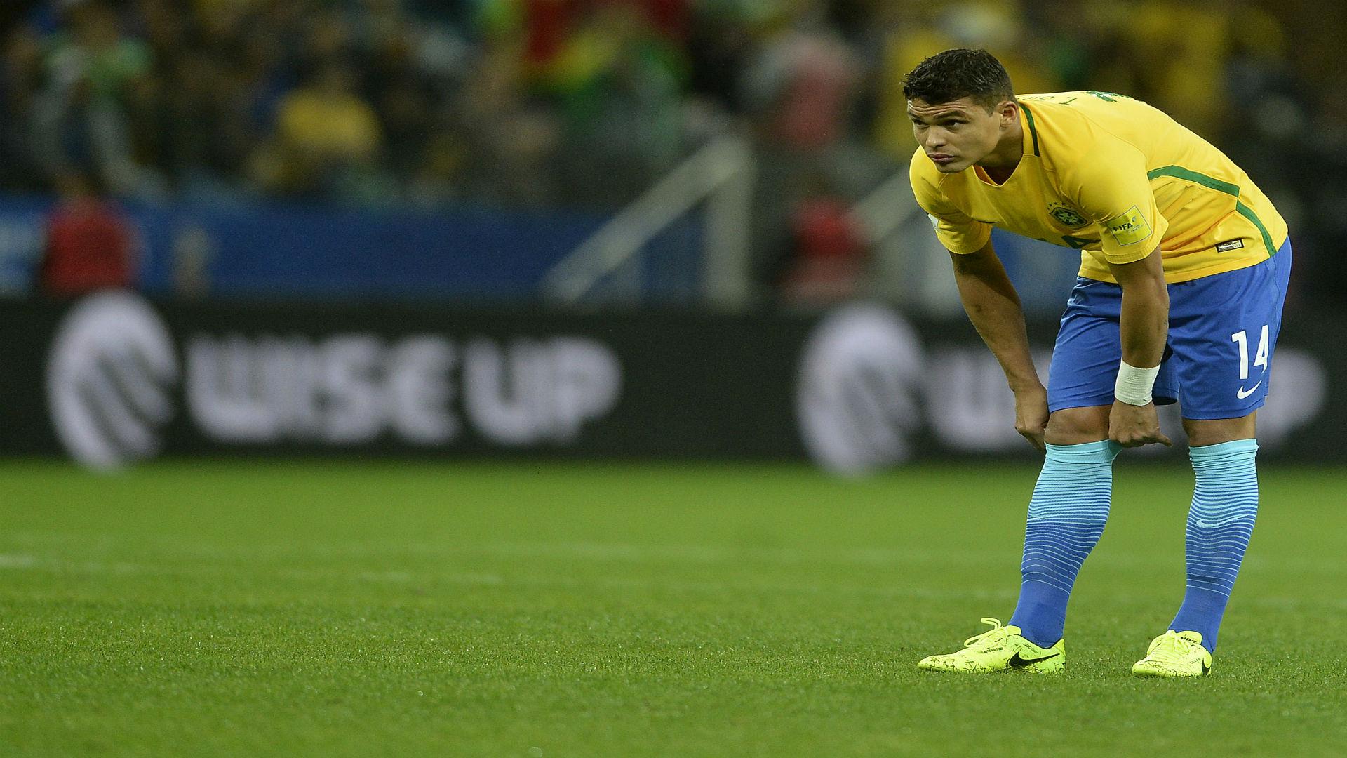Thiago Silva Brasil x Paraguai 28032017