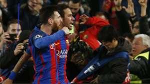 Neymar Messi Barcelona PSG Champions League 08 03 2017