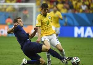 Oscar Stefan de Vrij Brazil Netherlands 2014 World Cup third-place playoffBrazil Netherlands 2014 World Cup third-place playoff