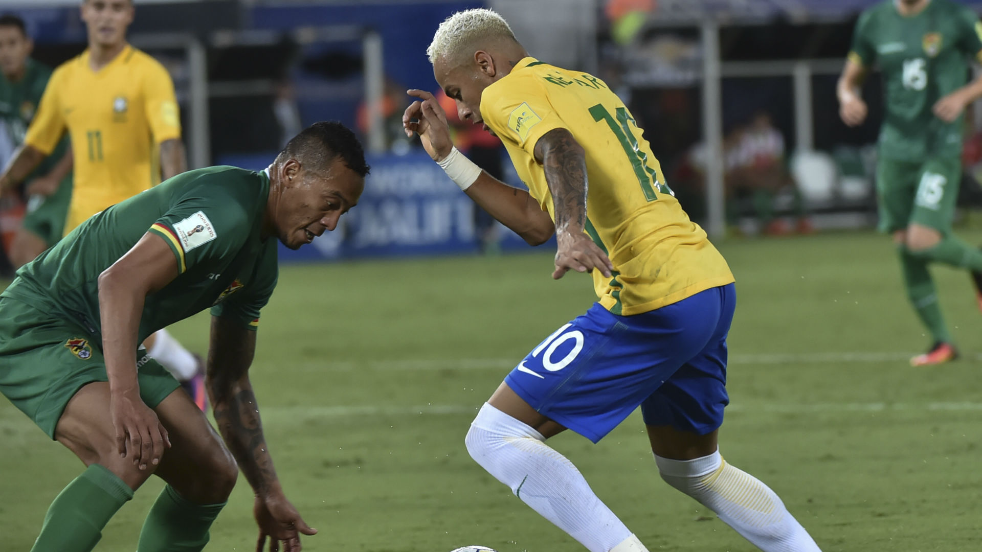 Neymar Brasil vs Bolivia Eliminatórias 2018 07 10 2016