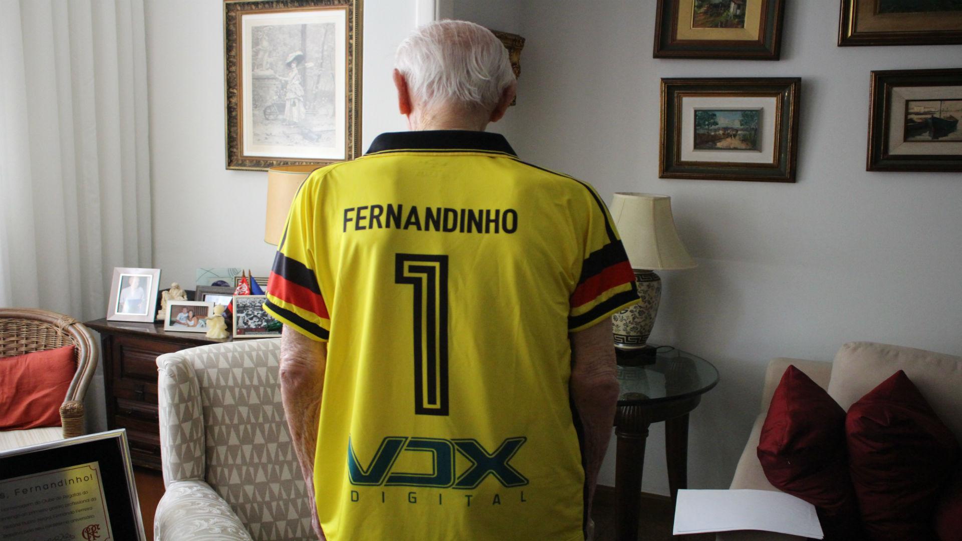 Fernandinho Flamengo 104 anos