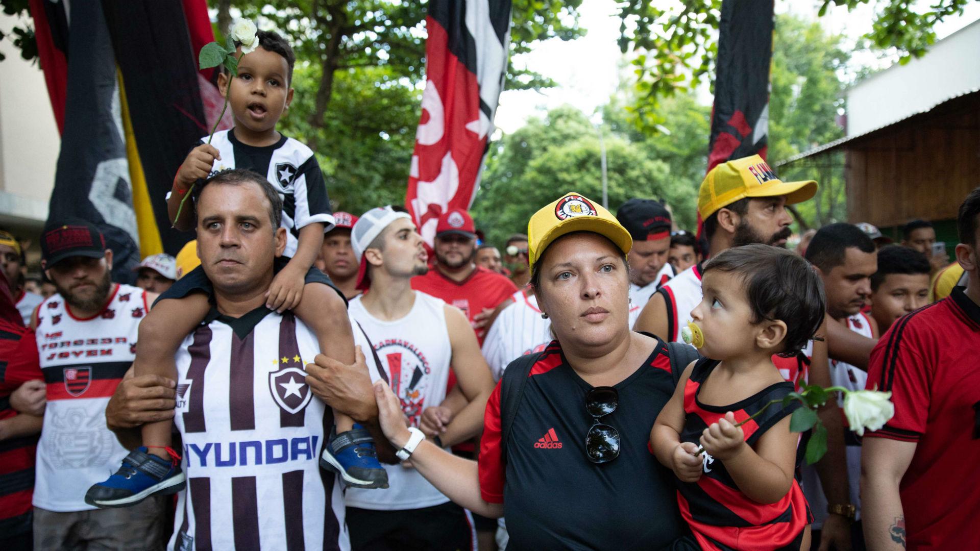 Botafogo Flamengo Ninho 11 02 2019