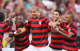 Adriano Flamengo x Atlético-PR