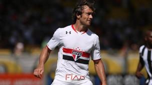 Diego Lugano Botafogo São Paulo Brasileirão 15052016