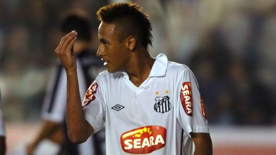 Neymar Santos 2010 17082016