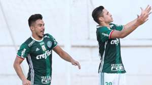 Willian Bigode Raphael Veiga Palmeiras 19022017